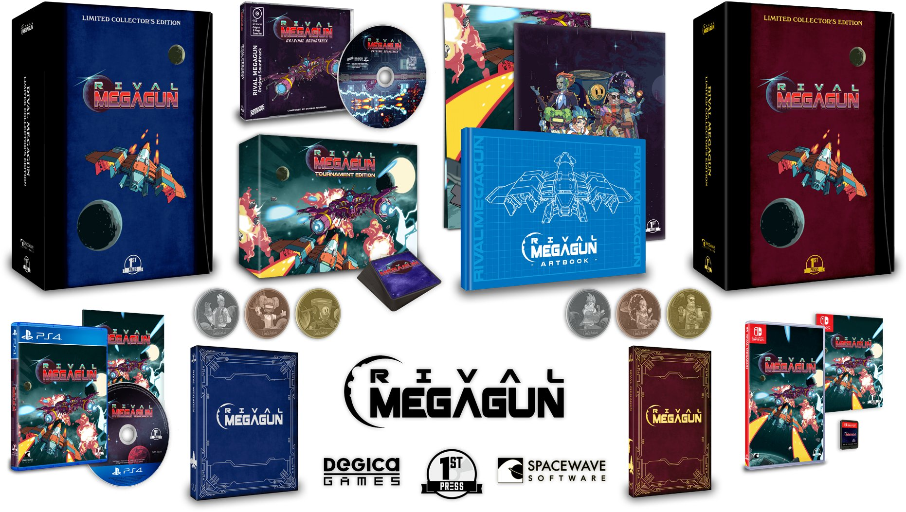 Rival Megagun physical release pre-orders now live!